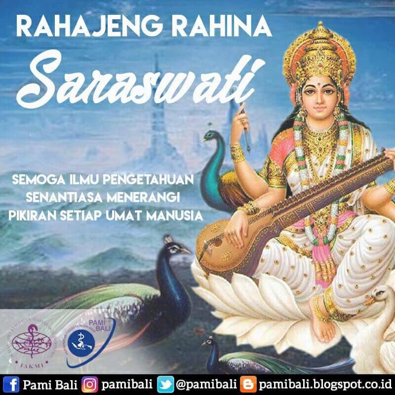 Selamat Hari Raya Saraswati 11 Mei 2019