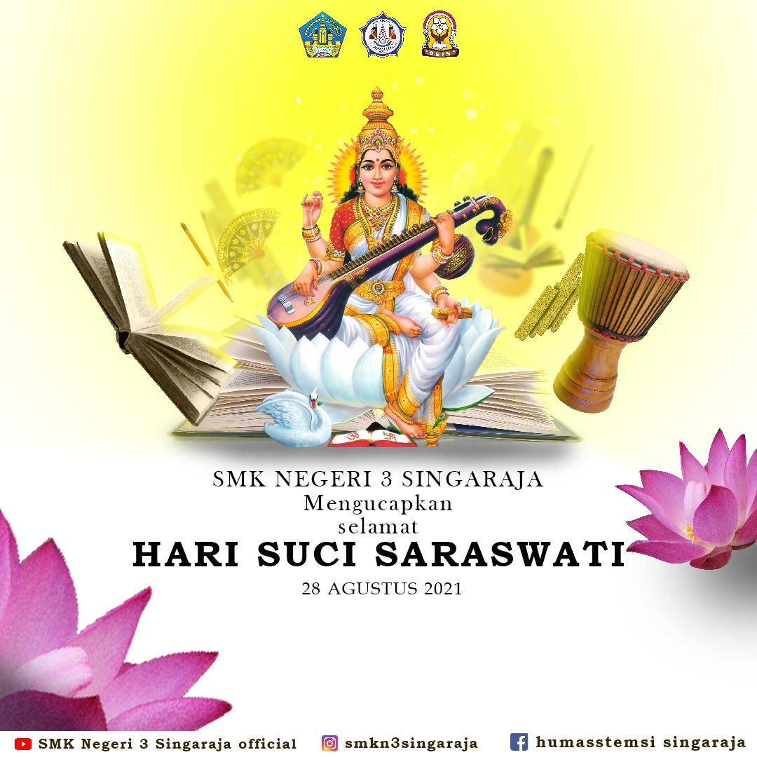 Selamat Hari Raya Saraswati 2021